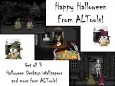ALTools Sppky Haunted House Halloween Desktop Wallpapers