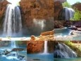 Indian Waterfall Video Screensaver