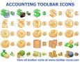 Accounting Toolbar Icons