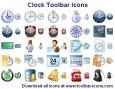 Clock Toolbar Icons
