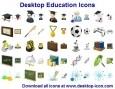 Desktop Education Icons