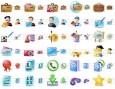 Large Portfolio Icons
