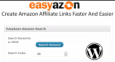 Easy Azon Amazon Wordpress Plugin