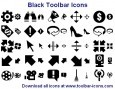 Black Toolbar Icons