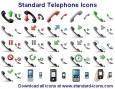 Standard Telephone Icons