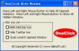OneClick Hide Window