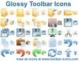 Glossy Toolbar Icon Set