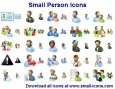 Small Person Icons