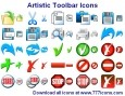 Artistic Toolbar Icons