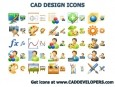 CAD Design Icons