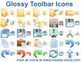 Glossy Toolbar Icons