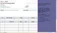 Hourly Invoice Form