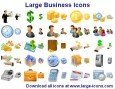 Large Business Icons