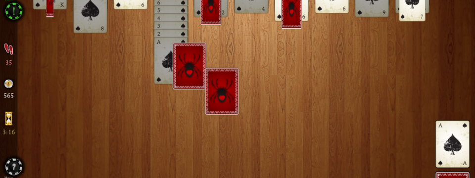 Spider Solitaire HD for Win8 UI