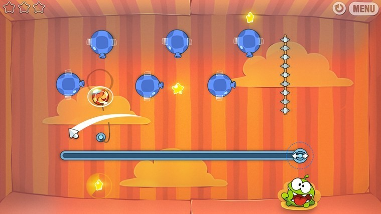 Cut The Rope for Win8 UI