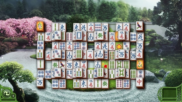 Microsoft Mahjong for Win8 UI