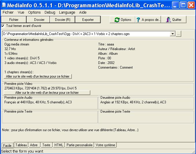MediaInfo (x64bit)