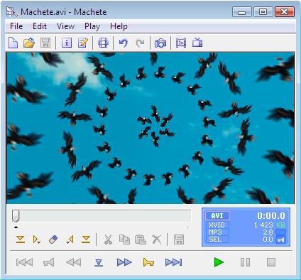 Machete Video Editor 4.1 Build 22 โปรแกรมตัดต่อไฟล์ภาพยนต์ที่เล็ก ใช้งานง่าย  Image540532