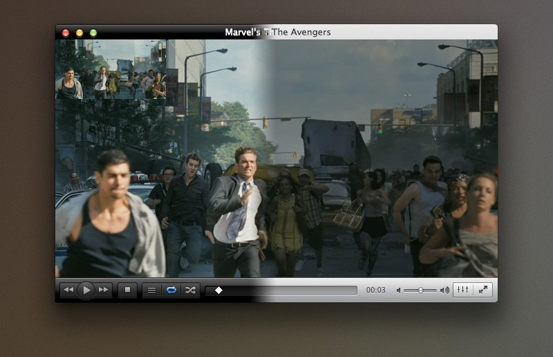 VLC Media Player for Mac OS X