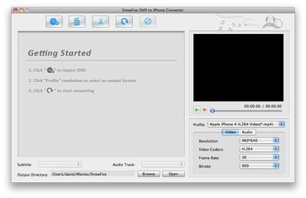 SnowFox iPhone Toolkit for Mac