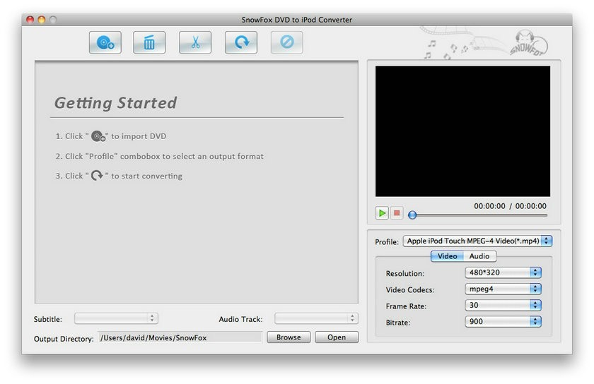 SnowFox iPod Toolkit for Mac