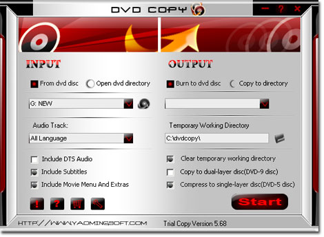 A-one DVD Copy Ripper Tools