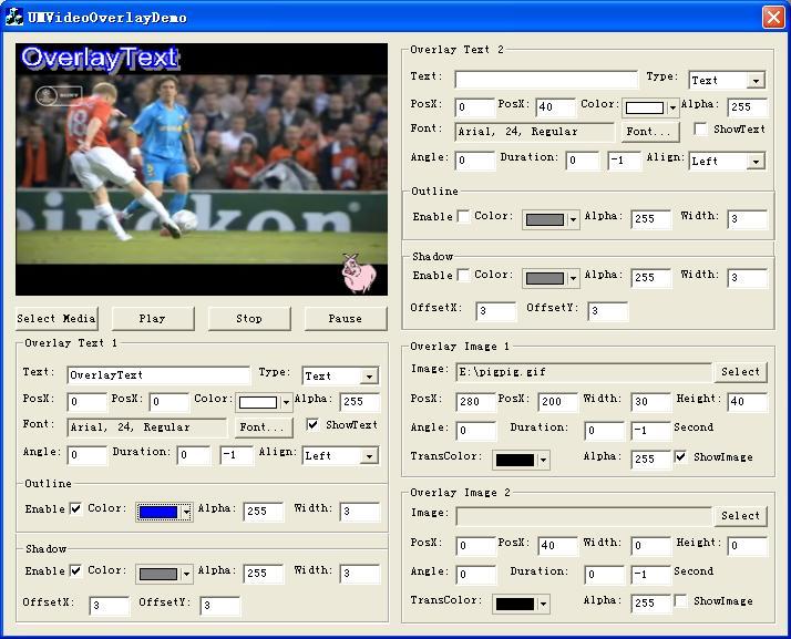 Delphi Video Overlay - Free Delphi Video Overlay Software Download