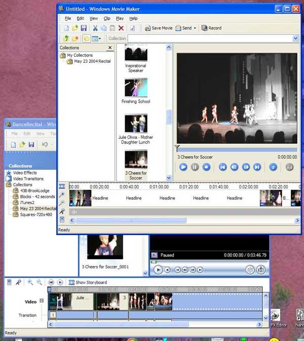 Windows Movie Maker for Windows XP