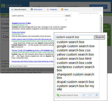 Smart Search Box for Mozilla Firefox