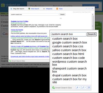 Smart Search Box for Mozilla Firefox