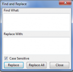 Find and Replace for FireFox 1.0 Beta