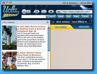 UCLA Bruins IE Browser Theme