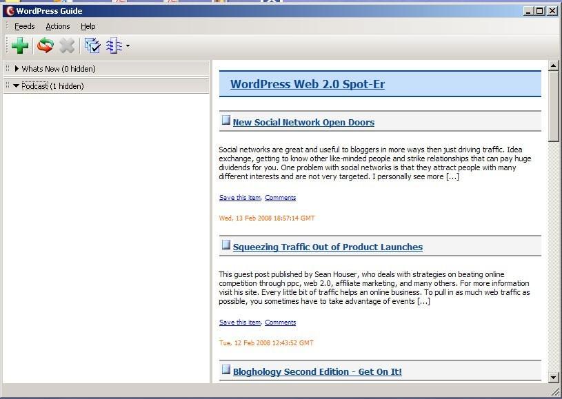 WordPress Web 2.0 Guide