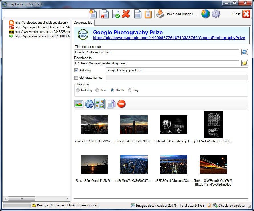 Mourao Image Grabber