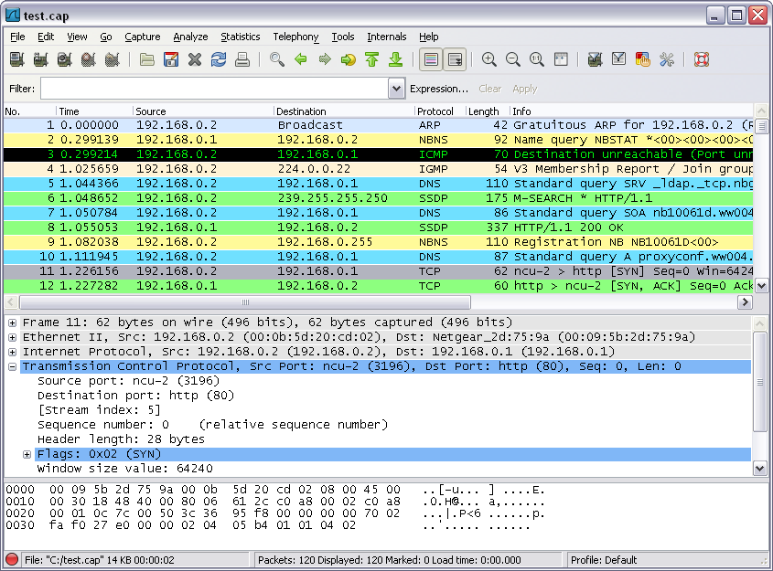 Download free Wireshark (x64bit) by Gerald Combs v.1.8.5 software ...