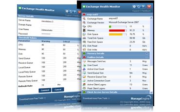 Free Exchange Health Monitor