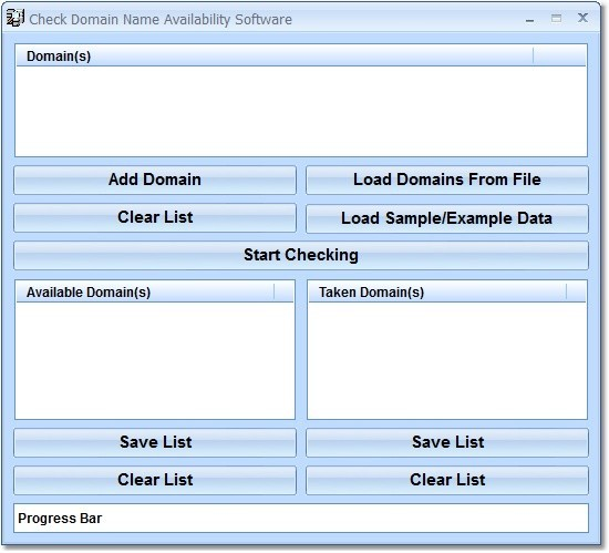 Check Domain Name Availability Software