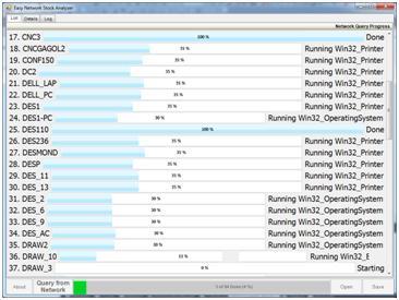 Easy Network Stock Analyzer