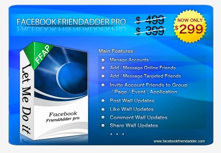 Facebook FriendAdder Pro 3.0.0 Beta