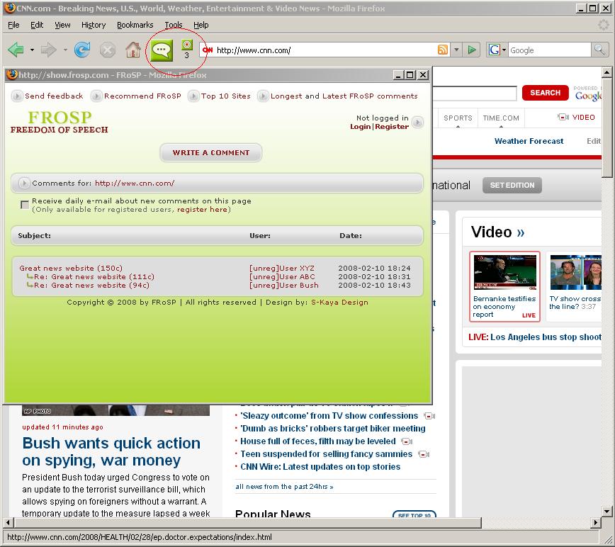 Free Internet Explorer Toolbar