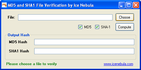 how to check sha hash download