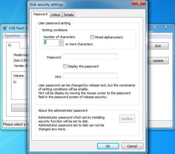 USB Flash Security##g