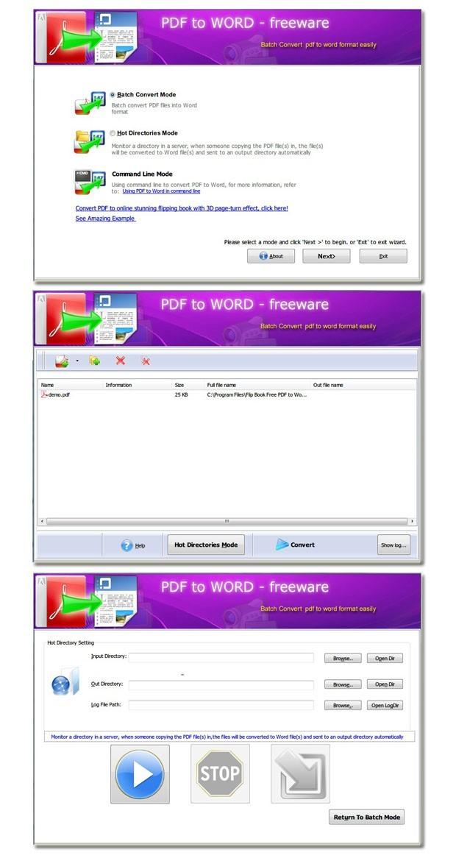 Flash Flipping Free PDF to Word