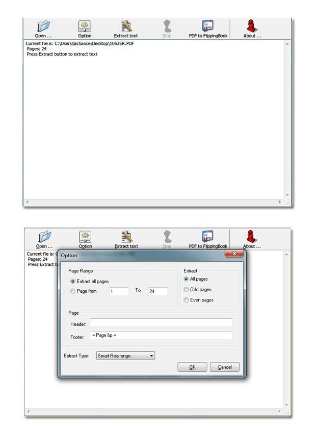 Flash Flipping Free PDF to Text