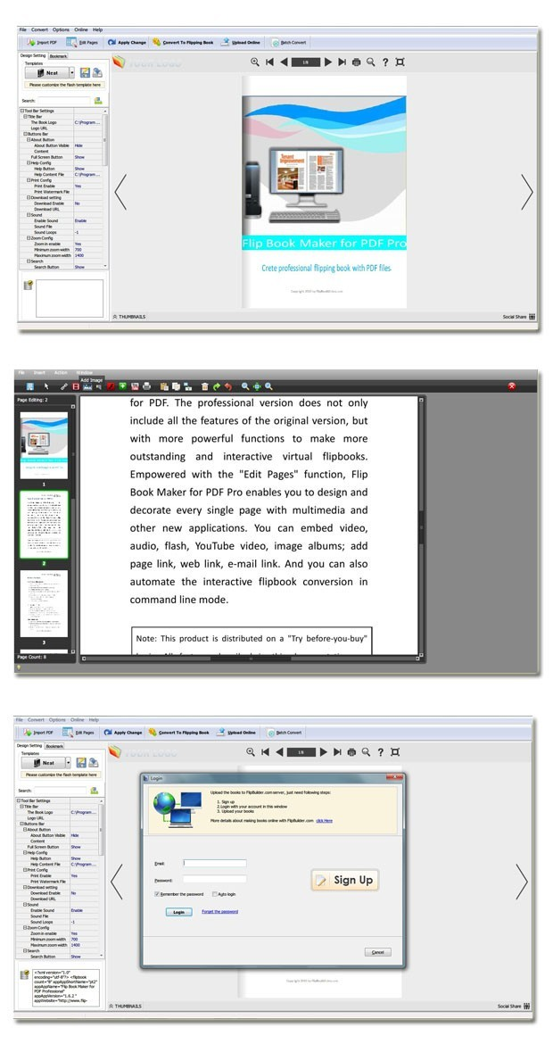 PDF to Flipping Book Pro