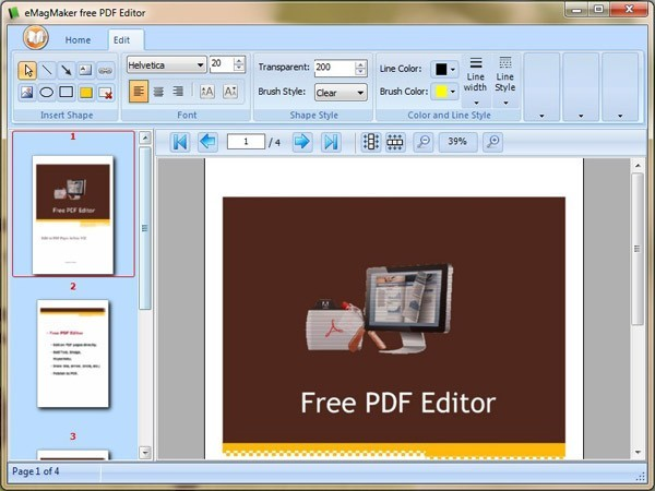 Sunny2soft PDF Editor