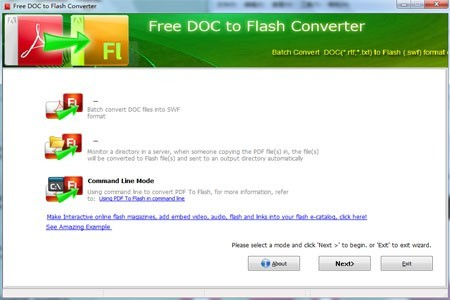 WinJoft Free Flash Converter