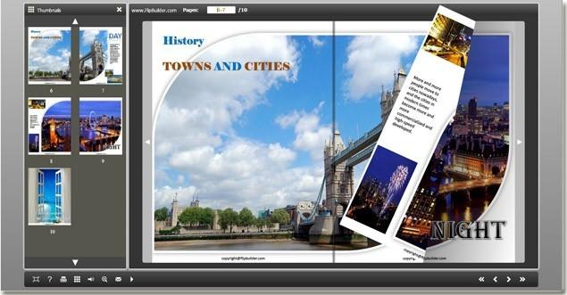 FlashFlippingBook PDF Viewer