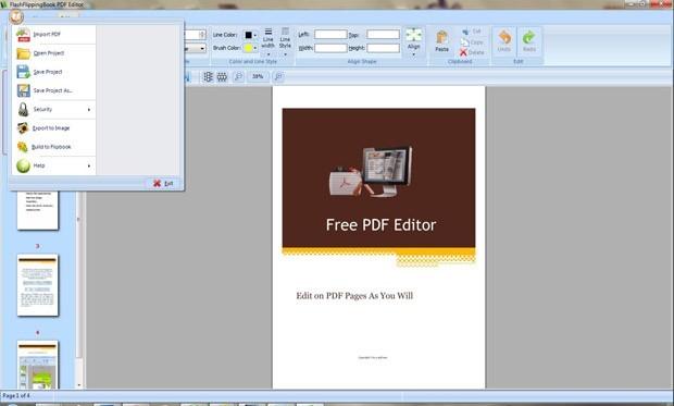 FlashFlippingBook PDF Editor
