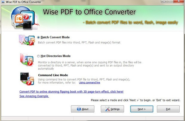 Wise PDF to Office Converter